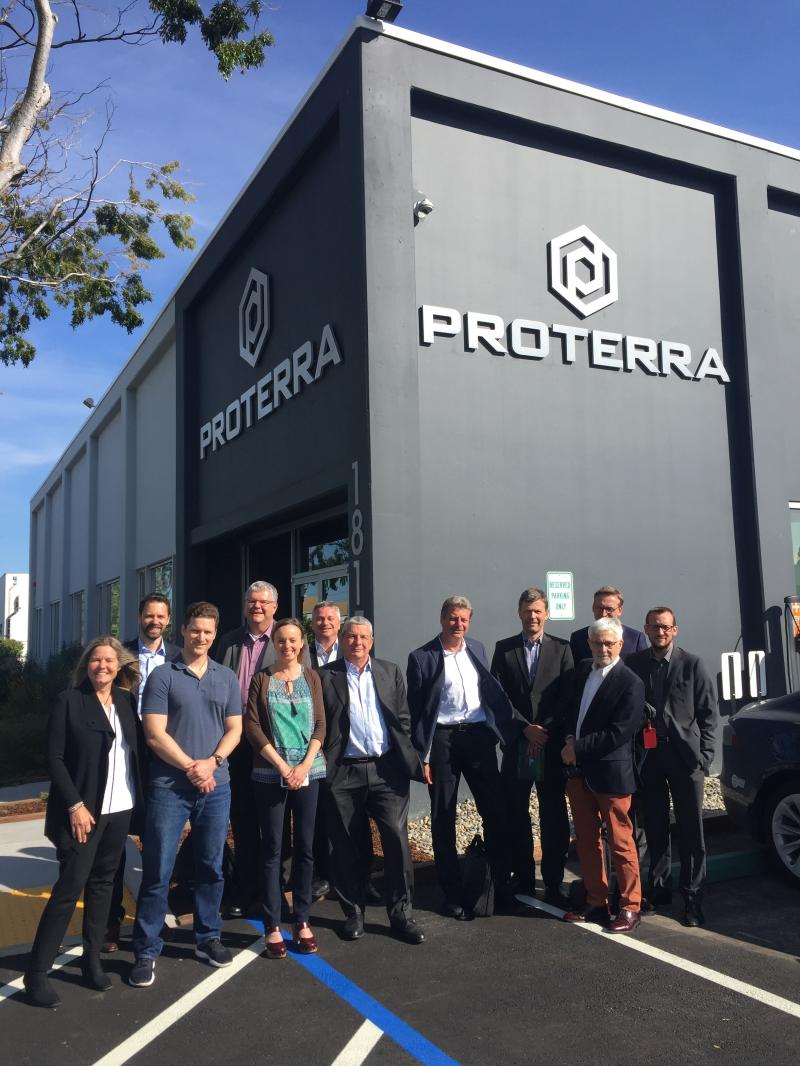Mango Networks with Swiss Delegation visiting Proterra